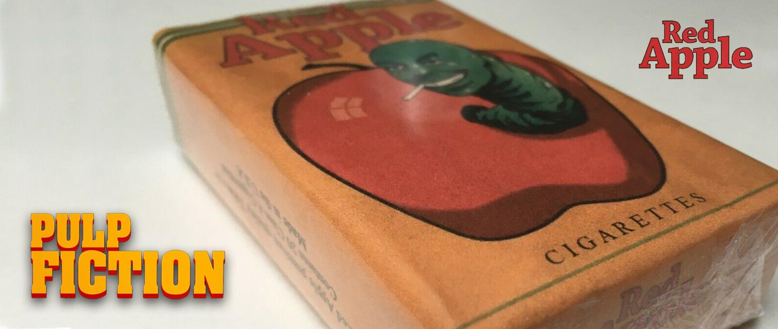 Red Apple Pulp Fiction Tarantino cigarette brand