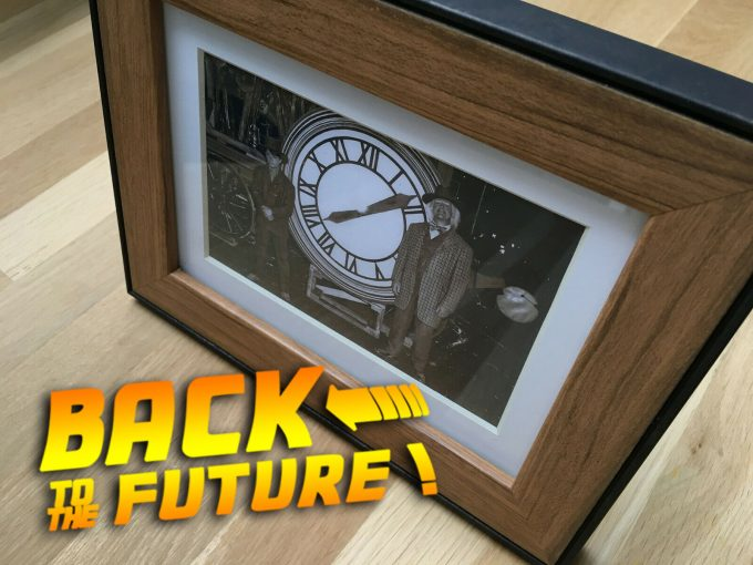 khristore angers retour vers le futur 3 cadre photo bttf back to the future III 1885