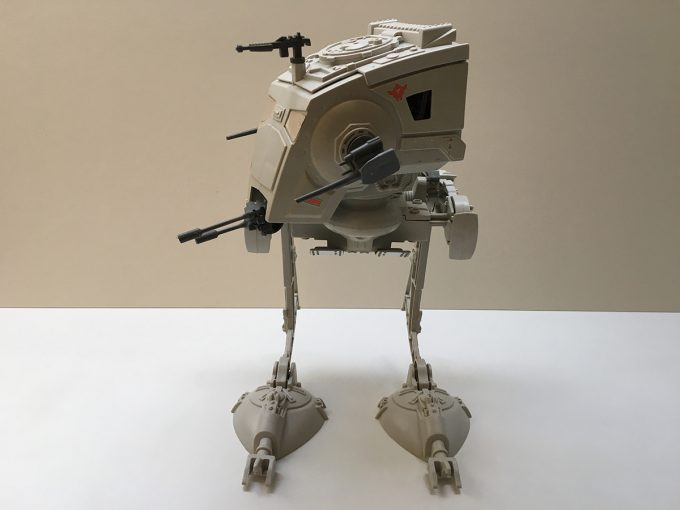 1982 Star Wars Scout Walker AT-ST Complete original box AT-AT Pilot figure included 1980 figurine khristore france jouet ancien collection collector