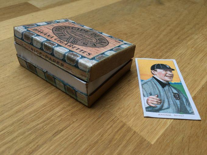 Cigarettes EL PRINCIPE DE GALES Jennings T206 Baseball Card khristore france angers brocante