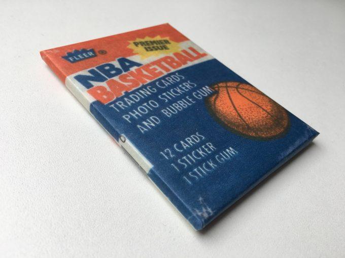 1986 FLEER Card wax wrapper PACK Hand made Replica Premier cards NBA Basketball Michael Jordan 86 khristore auction