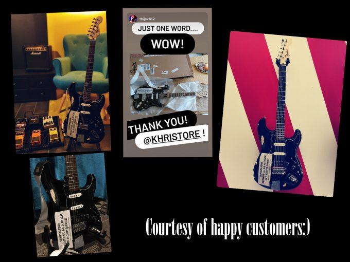 khristore happy customers Vandalism Strat Kurt Cobain Nirvana