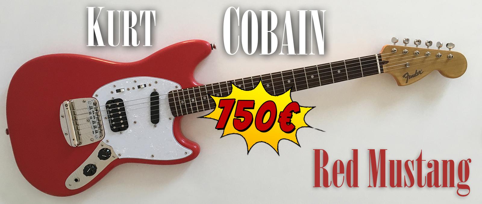 Kurt-Cobain-Fender-Red-Mustang-NPA-Nulle-Part-Ailleurs-Squier-guitar-relic-Nirvana-france-khristore